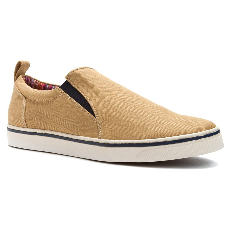 Amazon.com   Vionic Conner - Mens Slip-On with Orthotics Light Tan - 8    Loafers & Slip-Ons
