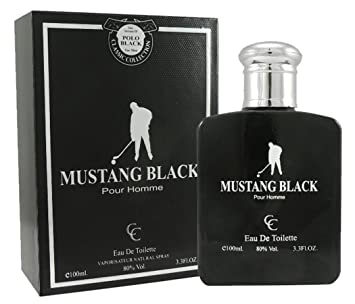 Mustang Black Polo Men Perfume 3.3 oz Eau de Toilette (Imitation)