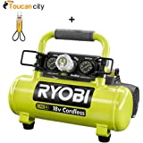 Toucan City Voltage Tester and Ryobi 18-Volt ONE+ Cordless 1 Gal. Portable Air