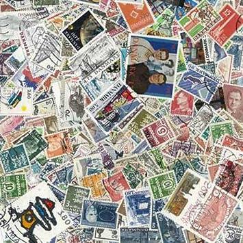 Briefmarken Briefmarken Dänemark Verschiedene Stile Europa