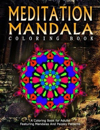MEDITATION MANDALA COLORING BOOK - Vol.14: Women Coloring Books For Adults (Volume 14)