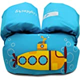 Dark Lightning Kids Float Vest for Swimming Pool,Life Jacket for Baby/Infant / Toddler 30lbs to 50lbs