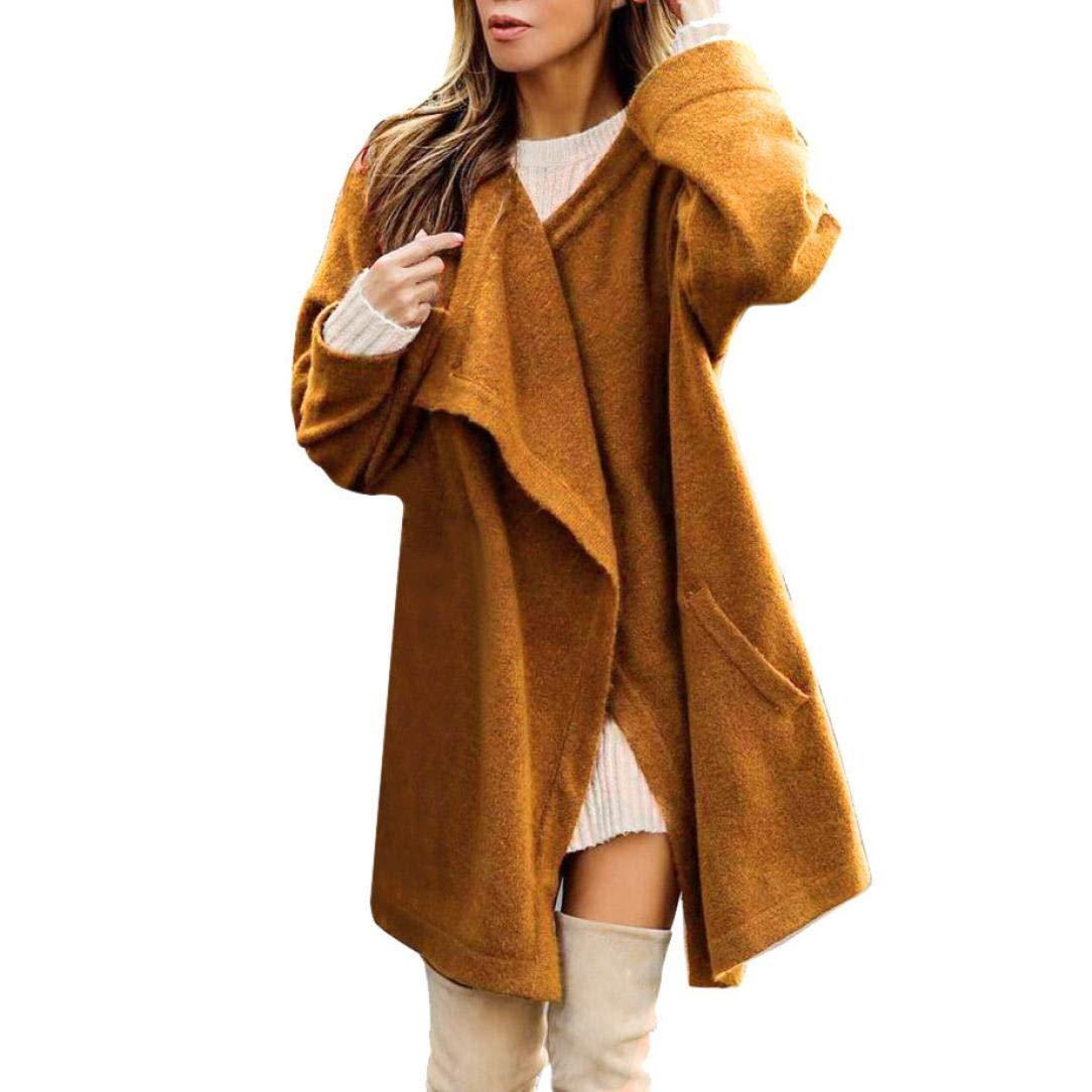 Spbamboo Womens Outwear Winter Warm Coat Jacket Parka Lady Cardigan Long Coat