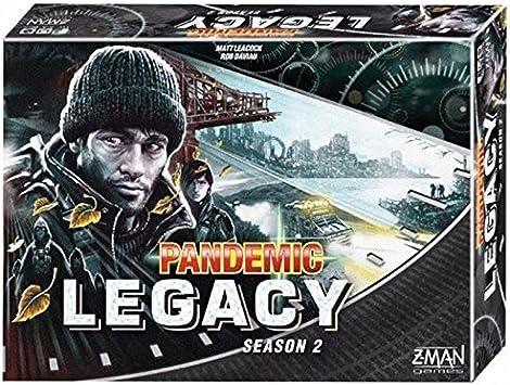 Devir Iberia- Pandemic Legacy, Temporada 2, Color Negro (225464 ...