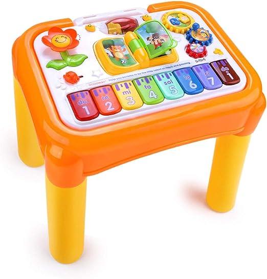 Cajas de música Mesa de juegos de aprendizaje para niños Mesa ...