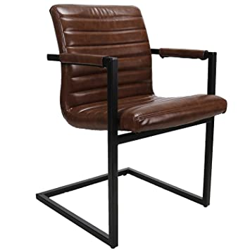Superb Set Of 2 Dining Chairs Bruut Faux Leather Industrial Design Andrewgaddart Wooden Chair Designs For Living Room Andrewgaddartcom