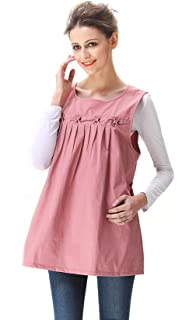 078579944ef44 Maternity Dresses Top with RF Radiation Shield, Pink Clothes, 8900610