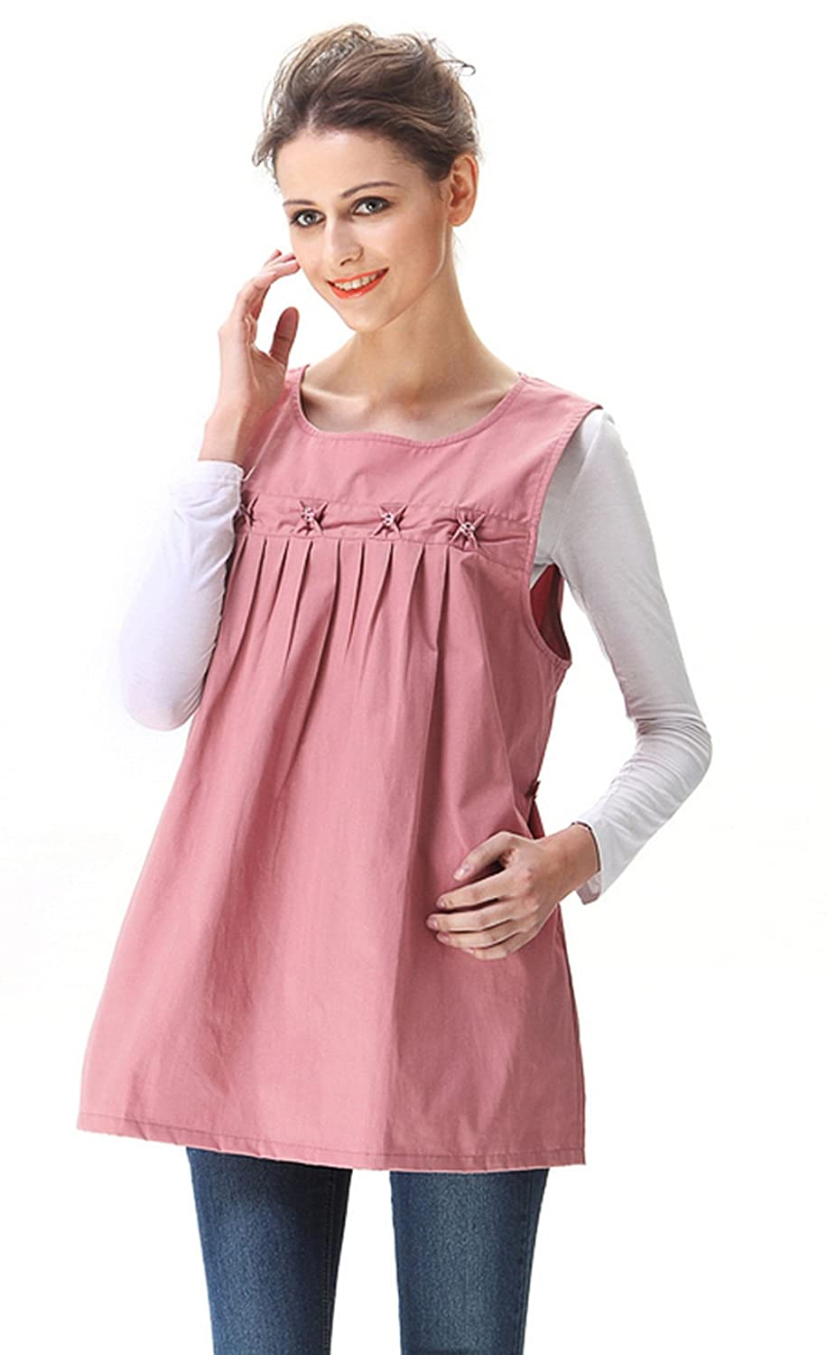 Maternity dresses top with rf radiation shield pink clothes maternity dresses top with rf radiation shield pink clothes 8900610 at amazon womens clothing store fashion maternity tank top and cami shirts ombrellifo Gallery