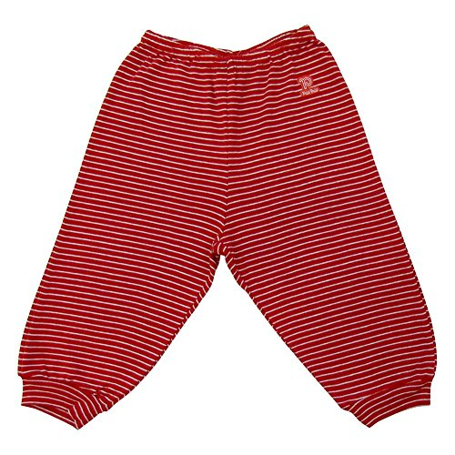 Baby Pants Unisex Infants Striped Trousers Pulla Bulla Size 6-9 Months - Red