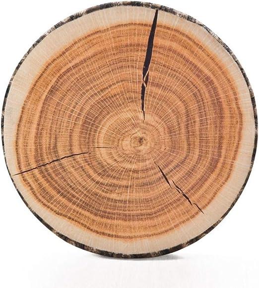 Soft Wood Log Pillow Tree Stump Cushion Neck Support Rest Sleeping Seat Pad O3