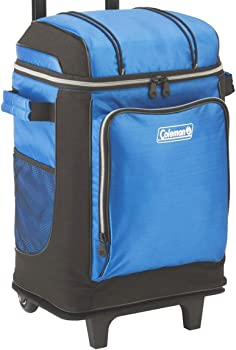 #2 Coleman 42-Can Wheeled Soft Cooler With Hard Liner
