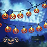 LCHUANG Halloween String Lights - 10 Feet 20 LEDs Decorations String Lights - Halloween Decorations Lights Battery…