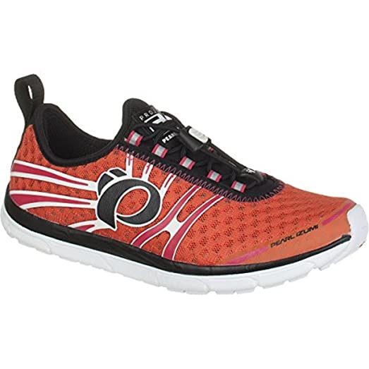 Pearl Izumi Women's EM Tri N1 Shoes Clementine / Rouge Red 08.5 and HDO  Sport Workout