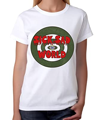 3c6f0b1b1c28 Amazon.com  Dream Shirts Daria Sick Sad World T-Shirt