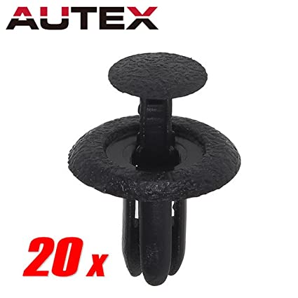 30x Bumper Door Trims Seats Cooler Retainer Nut for Mazda MX-6 MX-3 MPV