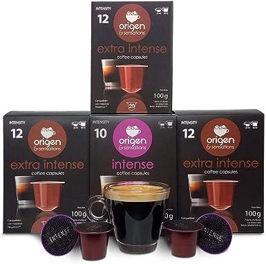 80 Cápsulas Nespresso Compatibles con Cafetera Nespresso - 60 Cápsulas de Cafe Extra Intense - 20 Cápsulas de Cafe Intenso: Amazon.es: Alimentación y bebidas