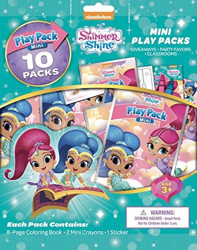 Bendon 41878 Shimmer and Shine 10 Mini Play Packs (Pack Shine)
