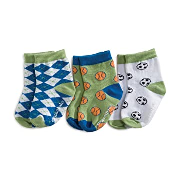 Elegant Baby 3-Pack Fashion Socks - Sports