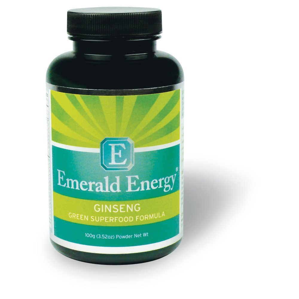 Emerald Energy® Ginseng: Superior Green Superfood Formula (1 Pound)