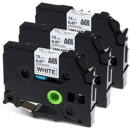 Anycolor Tze231 cinta de etiquetas Compatible para usar en lugar ...