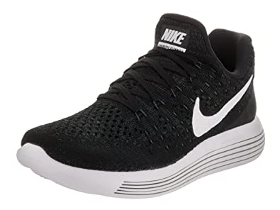 new product 10488 18aae Nike Damen Lunarepic Low Flyknit 2 Laufschuhe schwarz, 39 EU