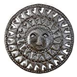 Small Metal Sun for indoor or outdoor, Rustic Modern Farmhouse Decor, Handmade in Haiti 17″ x 17″ Review