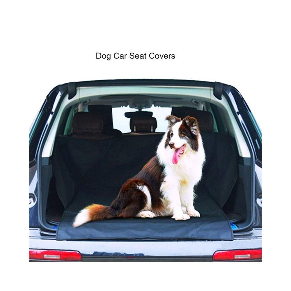 CJDQ Boot predector car dog blanket with transport bag  waterproof washable bTrunk predection mat oot lid for dogs Waterproof boot dog blanket Car predective cover with side predection for car