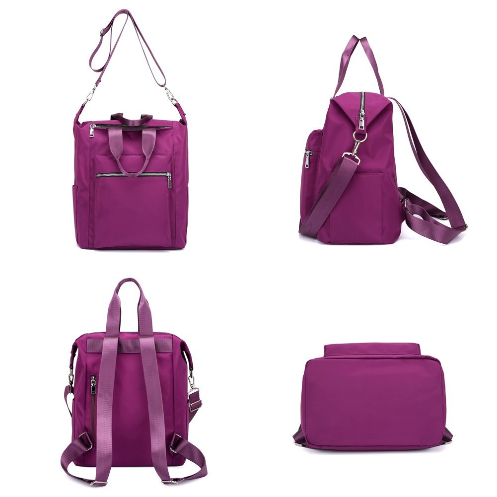 Mynos Backpack Women Multifunction Waterproof Travel Rucksack Purse and Handbag