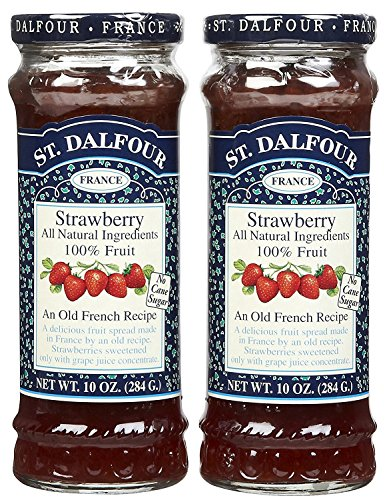 (St. Dalfour Strawberry Conserves - 10 oz - 2 pk)
