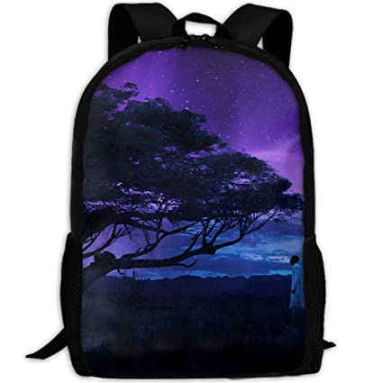SuBenSM Angry Black Panther Wallpaper Backpack Daypack Fit OutdoorTravelHiking Camping Casual