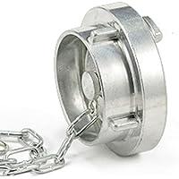 Aluminium Dicsa ALF012 Camlock Type F 1//2 x DN 12 Male-Male Threaded BSP