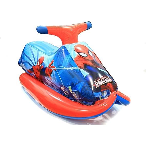 Dabuty Online, S.L. Moto Hinchable de Piscina Jugete Diseño Spider ...