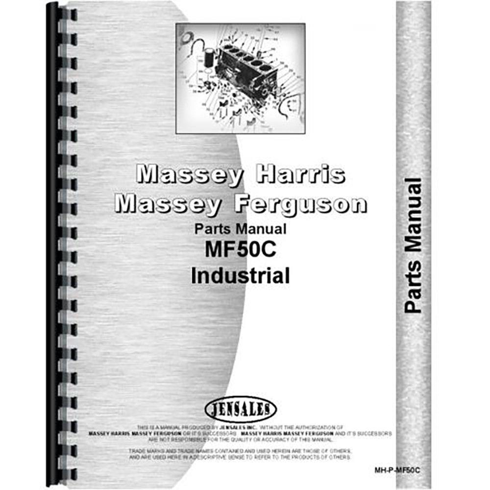 Amazon.com: New Massey Ferguson 50C Industrial/Construction Parts Manual:  Industrial & Scientific