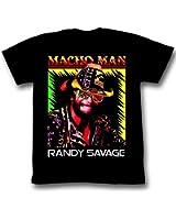 Macho Man Shirt Time Of My Life Adult Black Tee T-Shirt