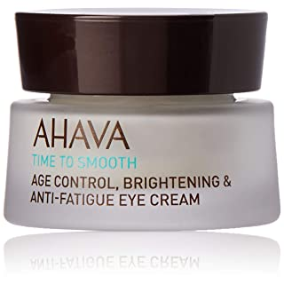 AHAVA Dead Sea Age Control Brightening Anti Fatigue Eye Cream, 0.51 Fl Oz