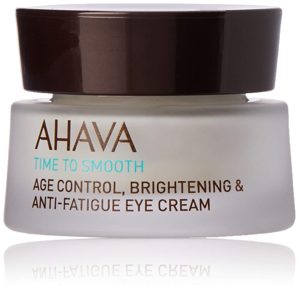 AHAVA Dead Sea Age Control Brightening Anti Fatigue Eye Cream, 0.51 Fl Oz