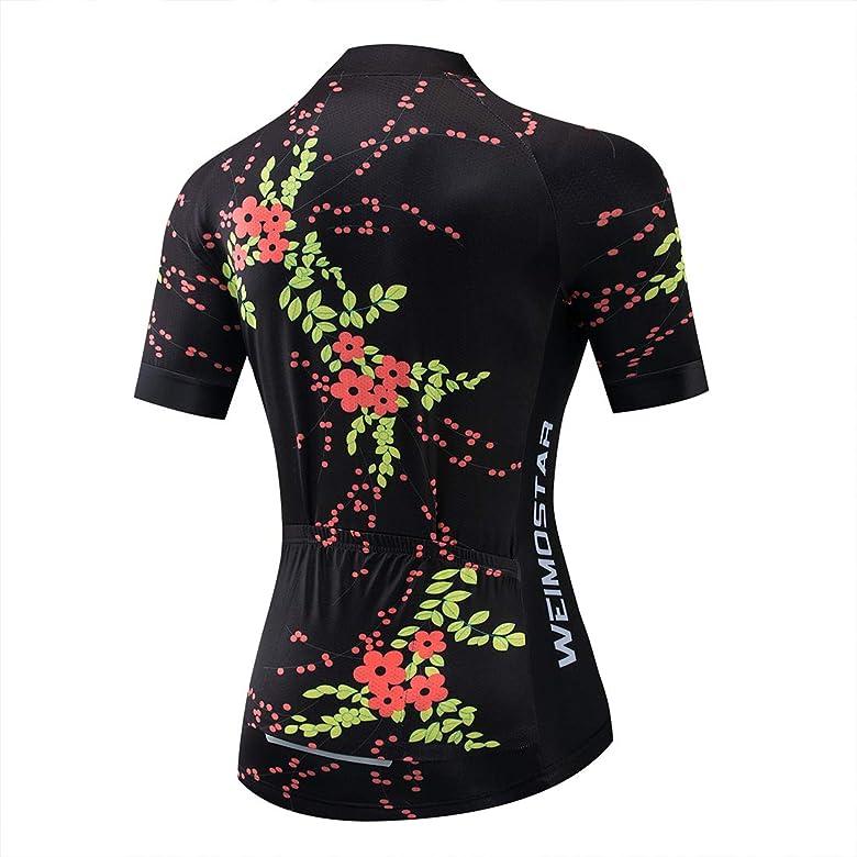 2019 Frauen Reiten Sportwear Radtrikot Fahrrad Kurzarm Kleidung Shirt Tops S-3XL