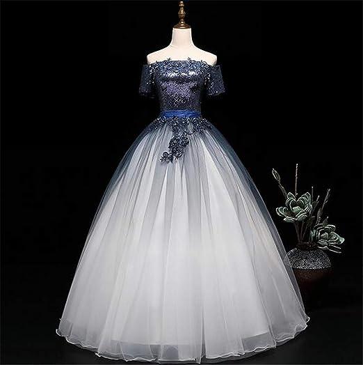 Vestido de Novia, Tubo Largo de sección Superior Flor ...