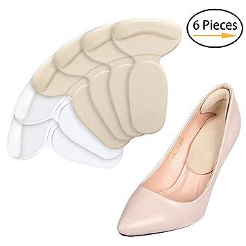 2186a99713f6f NANOOER High Heel Pads, Heel Liner Inserts, Metatarsal Cushions (6 PCS) -  Ball of Foot Comfort,...