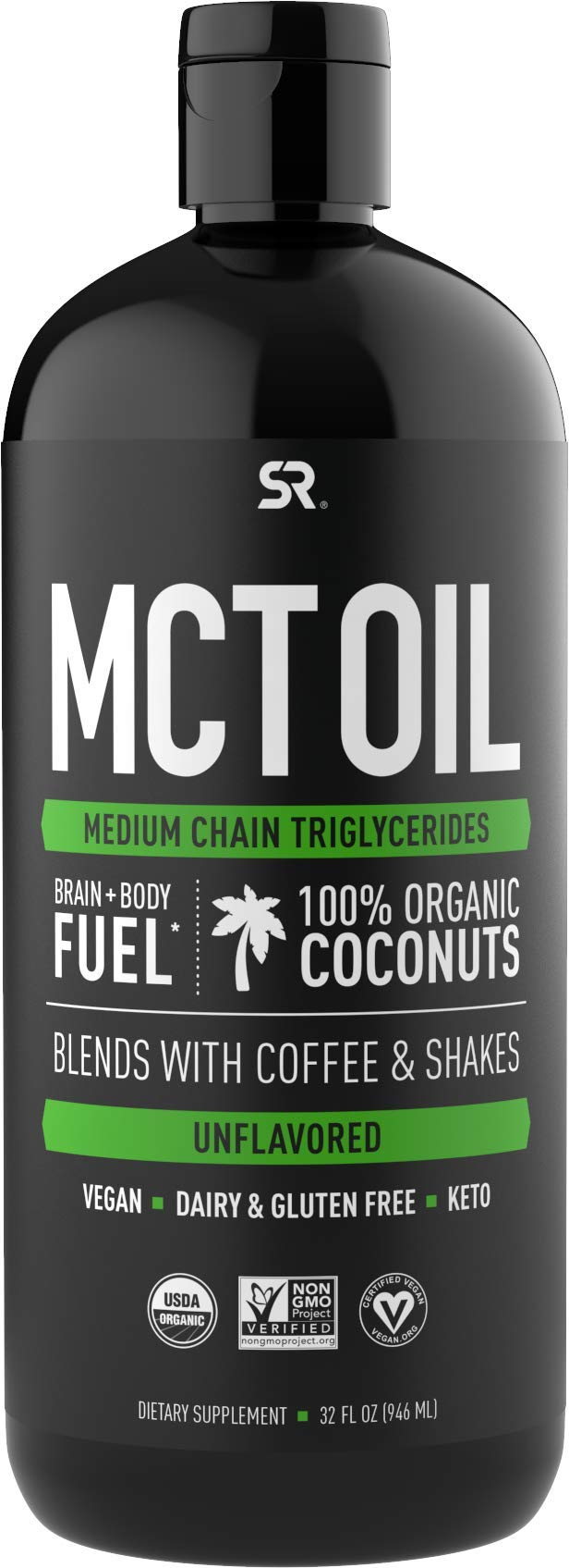 Premium MCT Oil from Organic Coconuts – Unflavored