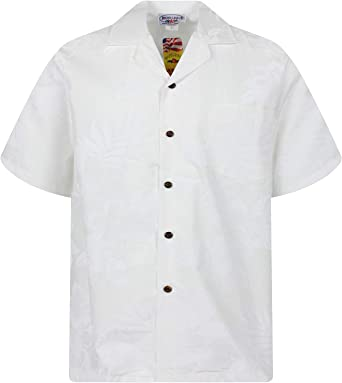 PLA - Camisa casual - Manga corta - para hombre