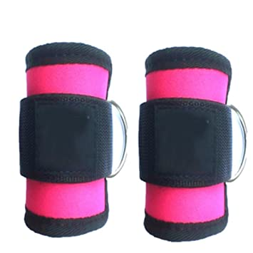 Adjustable Ankle Guard Strap D-ring Thigh Leg Pulley Gym Weight Lifting Multi Cable Attachment Fitness Protection Sports & Entertainment Sports Accessories