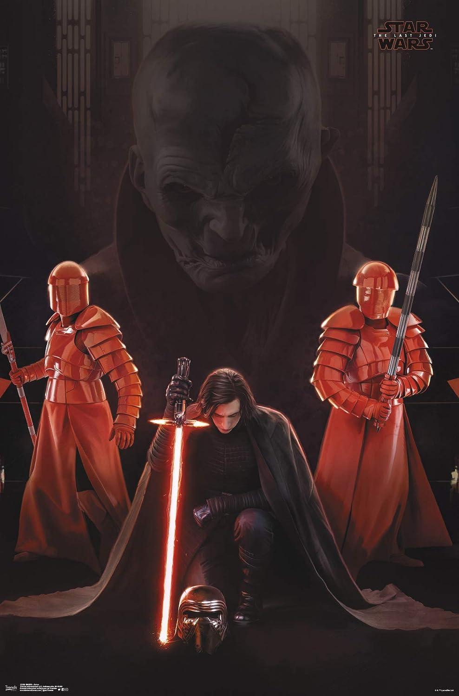 "Trends International Star Wars: The Last Jedi - Serve, 22.375"" x 34"", Unframed Version"