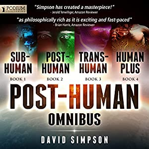 The Post-Human Omnibus Hörbuch