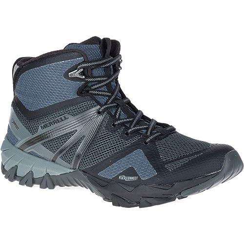 c960b14c72a Merrell Mens MQM Flex Gore-Tex Mid Waterproof Hiking Walking Boots:  Amazon.es: Zapatos y complementos