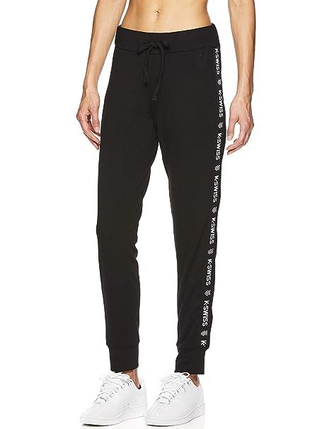 new design 100% original reputation first K-Swiss Women's High Waisted Joggers - High Rise Waist Activewear Sweatpants