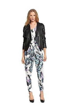 Black waterfall jacket size 14