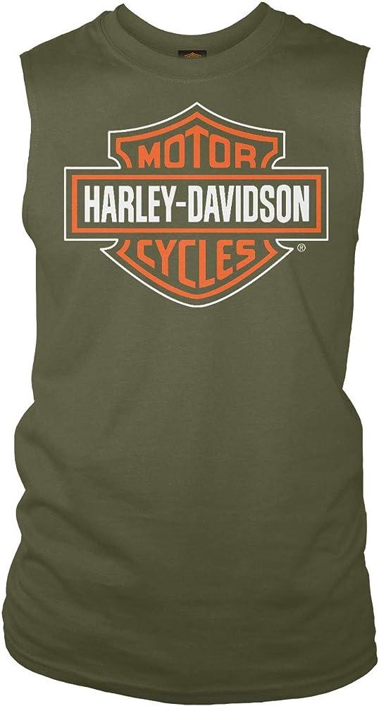 HARLEY-DAVIDSON Militar – Camiseta sin Mangas para Hombre – Yokosuka | Dashing - Verde - Small: Amazon.es: Ropa y accesorios
