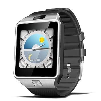 ZJTA Dz09 Reloj Inteligente, teléfono Celular con Pantalla táctil con Ranura para Tarjeta SIM Relojes