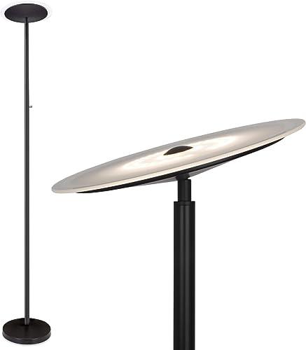 Kira Home Horizon 70″ Modern LED Torchiere Floor Lamp 36W